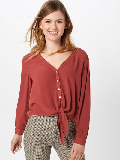 ABOUT YOU Blouse 'Dylane' in Rusty red, View model