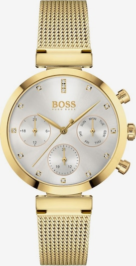 BOSS Analog watch 'FLAWLESS' in gold / silver / white, Item view