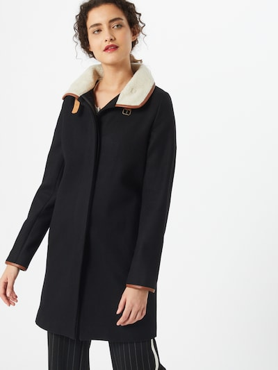 sessun Tussenmantel 'NINA' in de kleur Bruin / Zwart, Modelweergave
