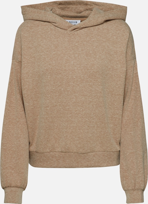 EDITED Sweatshirt 'Hugo' in beige, Produktansicht