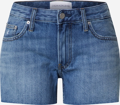 Calvin Klein Shorts in blue denim, Produktansicht