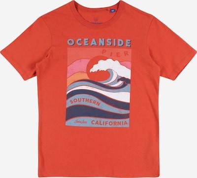 Jack & Jones Junior T-Shirt en rouge orangé, Vue avec produit