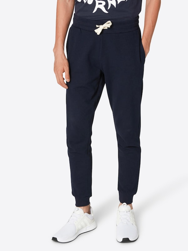 JACK & JONES Hose 'JJEHOLMEN SWEAT PANTS NOOS' in blau / navy, Modelansicht