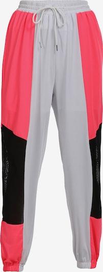 myMo ATHLSR Pantalon de sport en rose néon / noir / blanc, Vue avec produit