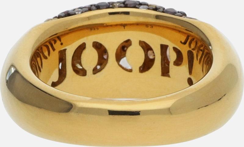 JOOP! Fingerring mit Zirkonia-Steinbesatz JPRG90499C