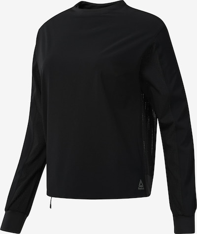 REEBOK Crew Top in schwarz, Produktansicht