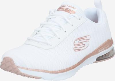 rózsaszín arany / fehér SKECHERS Rövid szárú edzőcipők, Termék nézet