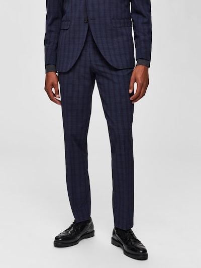 SELECTED HOMME Pantalon en bleu nuit: Vue de face
