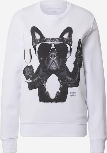 Bluză de molton 'Champagne Dog' EINSTEIN & NEWTON pe gri amestecat / negru, Vizualizare produs