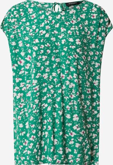 SOAKED IN LUXURY Koszulka 'Zaya' w kolorze ciemnozielonym, Podgląd produktu
