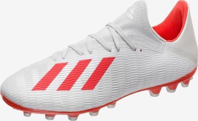 ADIDAS PERFORMANCE Voetbalschoen 'X 19.3 AG' in de kleur Rood / Zilver, Productweergave