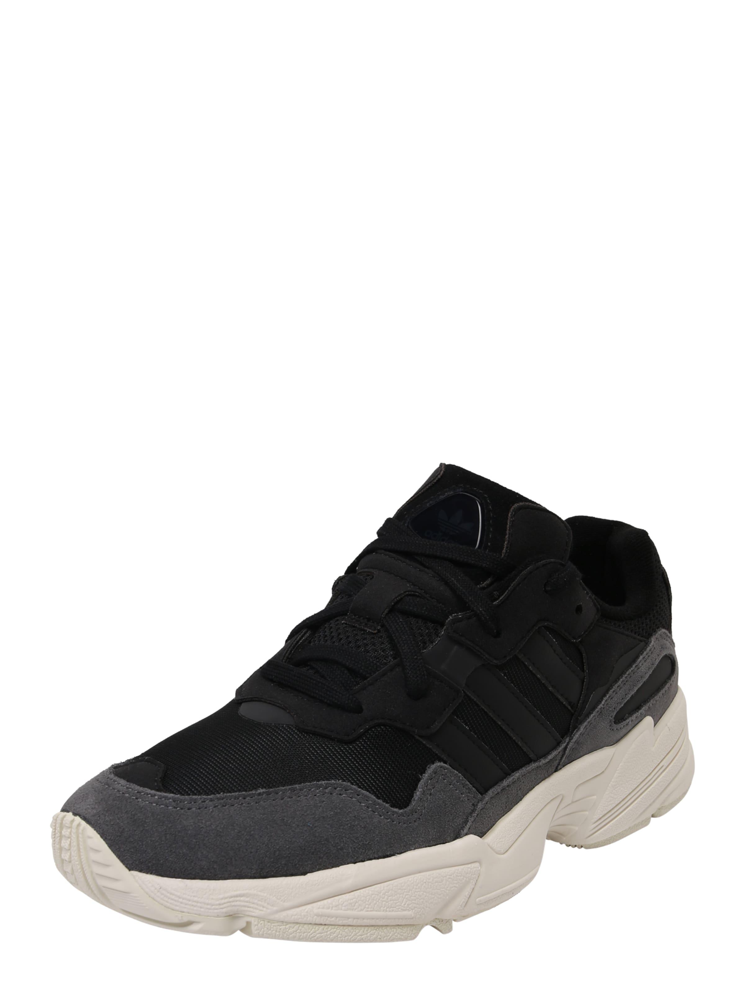 Adidas 96' Originals In 'yung Schwarz Sneaker f7gyb6