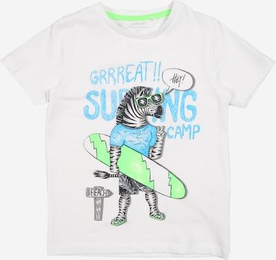 NAME IT Shirt 'NMMJAMA' in weiß, Produktansicht