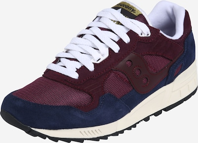 saucony Sneaker 'Shadow 5000' in navy / bordeaux, Produktansicht
