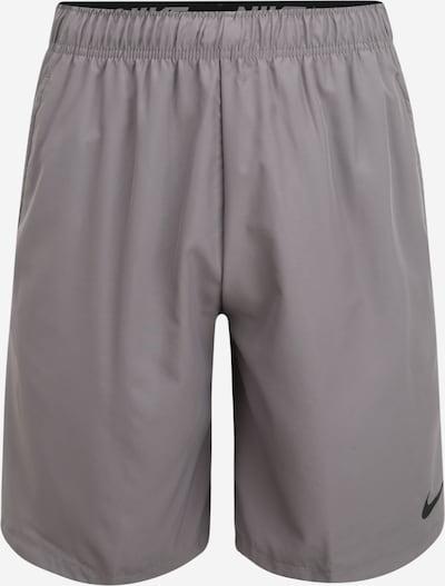 NIKE Športne hlače 'Nike Flex' | siva barva, Prikaz izdelka