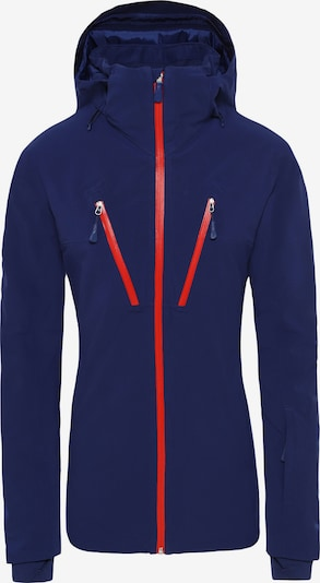 THE NORTH FACE Sportjas 'Apex Flex' in de kleur Donkerblauw / Rood, Productweergave
