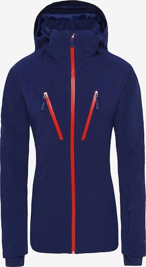 THE NORTH FACE Veste de sport 'Apex Flex' en bleu foncé / rouge, Vue avec produit