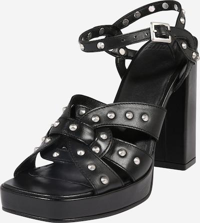 BRONX Sandalen 'New Renee' in schwarz, Produktansicht
