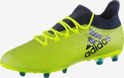ADIDAS PERFORMANCE Fußballschuhe 'X 17.2 FG' in neongelb / schwarz, Produktansicht
