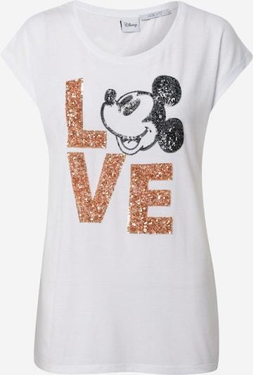 Hailys Tričko 'Avery' - zlatá / černá / bílá, Produkt