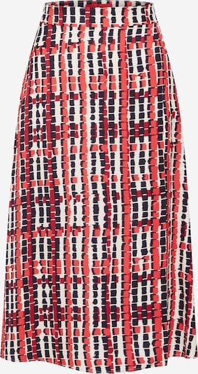 MAX&Co. Rock 'CAVALESE' in rot / schwarz / weiß, Produktansicht