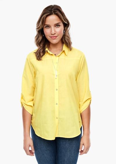 TRIANGLE Bluse in gelb, Modelansicht