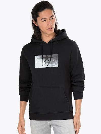 Mister Tee Sweatshirt 'Ballin Hoody' in schwarz: Frontalansicht