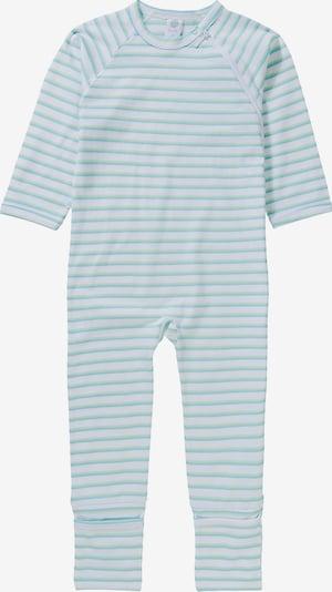SANETTA Schlafanzug in blau / grün / weiß, Produktansicht