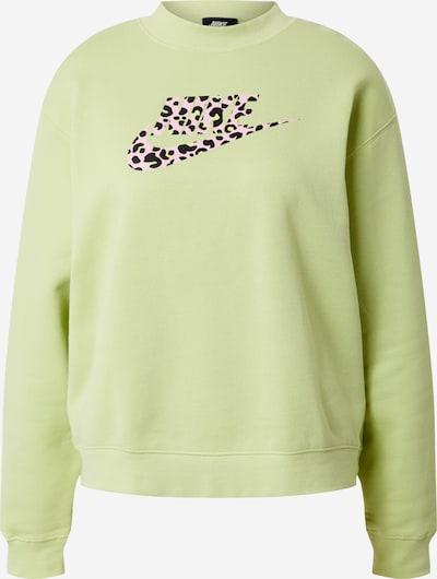 Nike Sportswear Bluzka sportowa 'W NSW BB PRNT PACK CREW' w kolorze limonkowym, Podgląd produktu