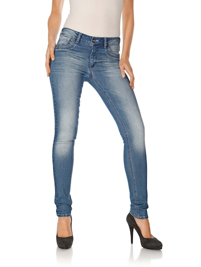 heine Jeans in blue denim, Modelansicht
