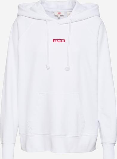 LEVI'S Sweatshirt 'GRAPHIC SPORT HOODIE' in de kleur Wit, Productweergave