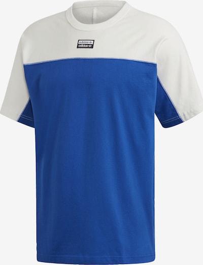 ADIDAS ORIGINALS T-Shirt in blau / weiß: Frontalansicht
