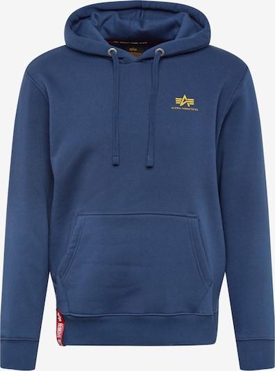 ALPHA INDUSTRIES Mikina - námornícka modrá, Produkt