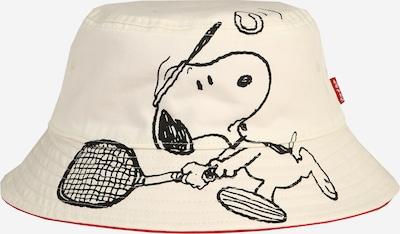 LEVI'S Hoed 'Reversible Snoopy Sport Bucket Hat' in de kleur Crème, Productweergave