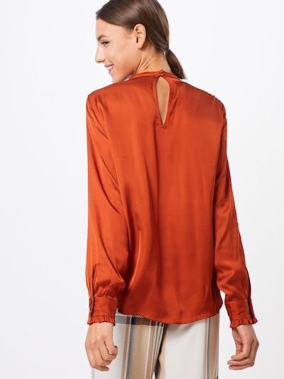 Palaidinė 'Simona Carolina shirt' iš BRUUNS BAZAAR , spalva - rūdžių raudona: Vaizdas iš galinės pusės
