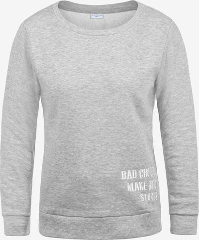 JACQUELINE de YONG Sweatshirt 'Luisa' in grau, Produktansicht