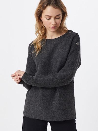 ESPRIT Pullover 'sweater struct' in anthrazit, Modelansicht