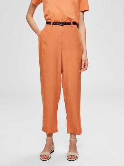SELECTED FEMME Hose in orange, Modelansicht