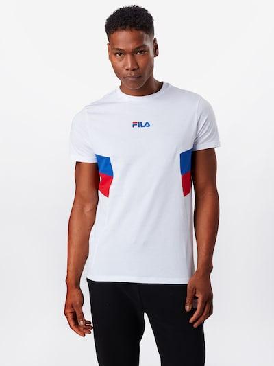 FILA Shirt 'Barry' in blau / rot / weiß: Frontalansicht