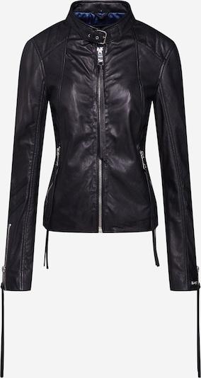 Maze Lederjacke 'Lindsay' in schwarz, Produktansicht