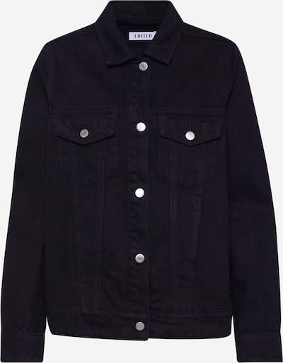 EDITED Prehodna jakna 'Freja' | črna barva, Prikaz izdelka