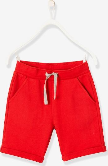 VERTBAUDET Sweatshorts in rot, Produktansicht