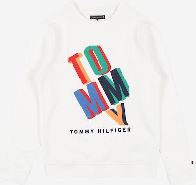 TOMMY HILFIGER Majica 'Fun Artwork' | mešane barve / bela barva, Prikaz izdelka