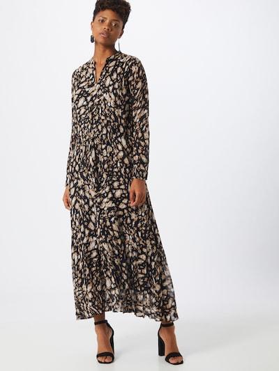 InWear Kleid 'ClariceI' in beige / schwarz / weiß, Modelansicht