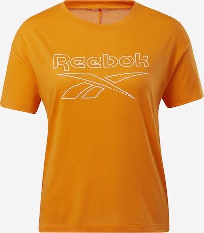REEBOK T-Shirt in orange / weiß, Produktansicht
