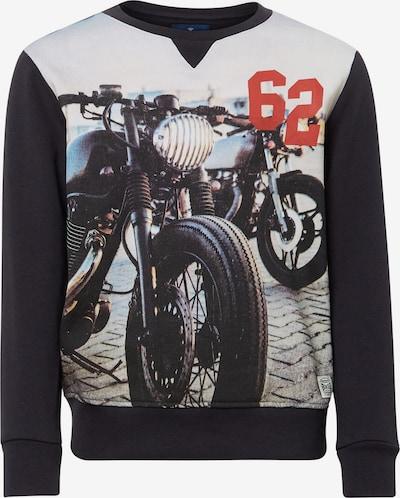 TOM TAILOR Strick & Sweatshirts Sweatshirt mit Foto-Print in navy, Produktansicht