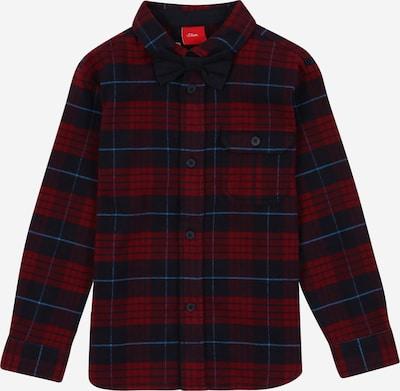 Dalykiniai marškiniai iš s.Oliver , spalva - mėlyna dūmų spalva / nakties mėlyna / vyšninė spalva / karmino raudona, Prekių apžvalga