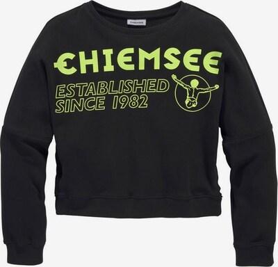 CHIEMSEE Shirt in neongrün / schwarz, Produktansicht