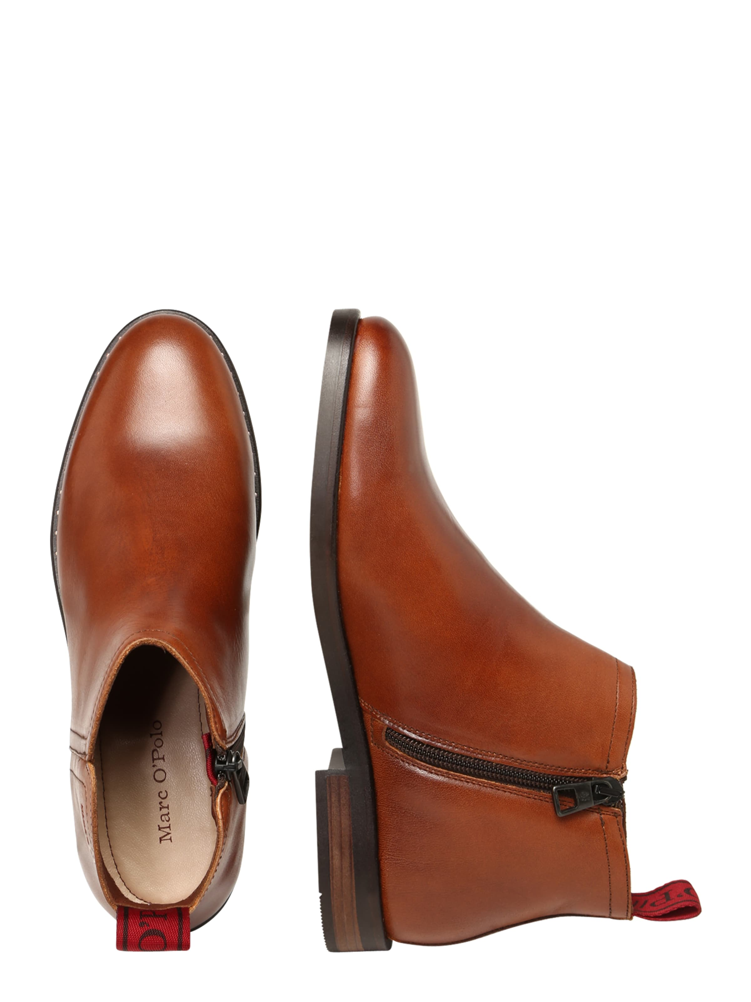 In O'polo Marc Stiefeletten Cognac 'paris' dCBWxeor