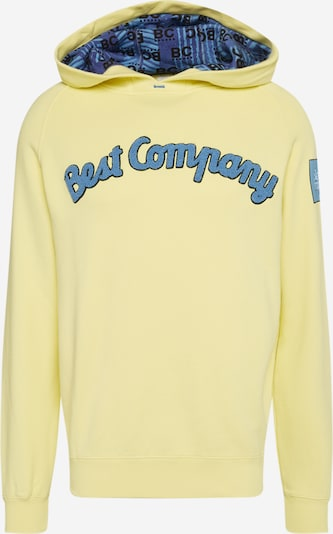Best Company Hoodie in blau / gelb, Produktansicht